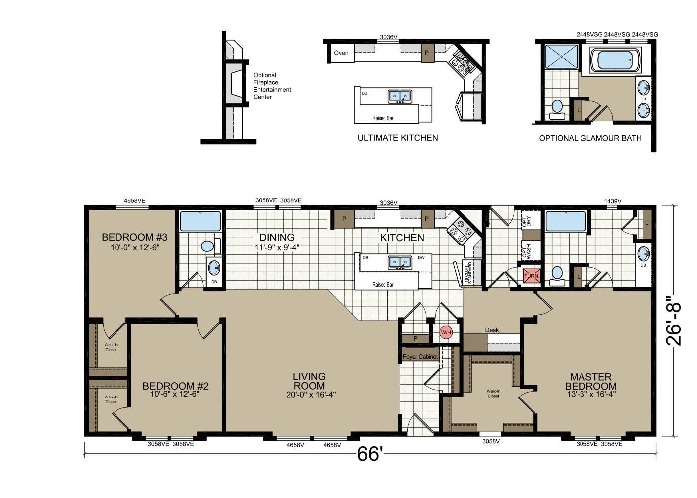 model floorplan layout