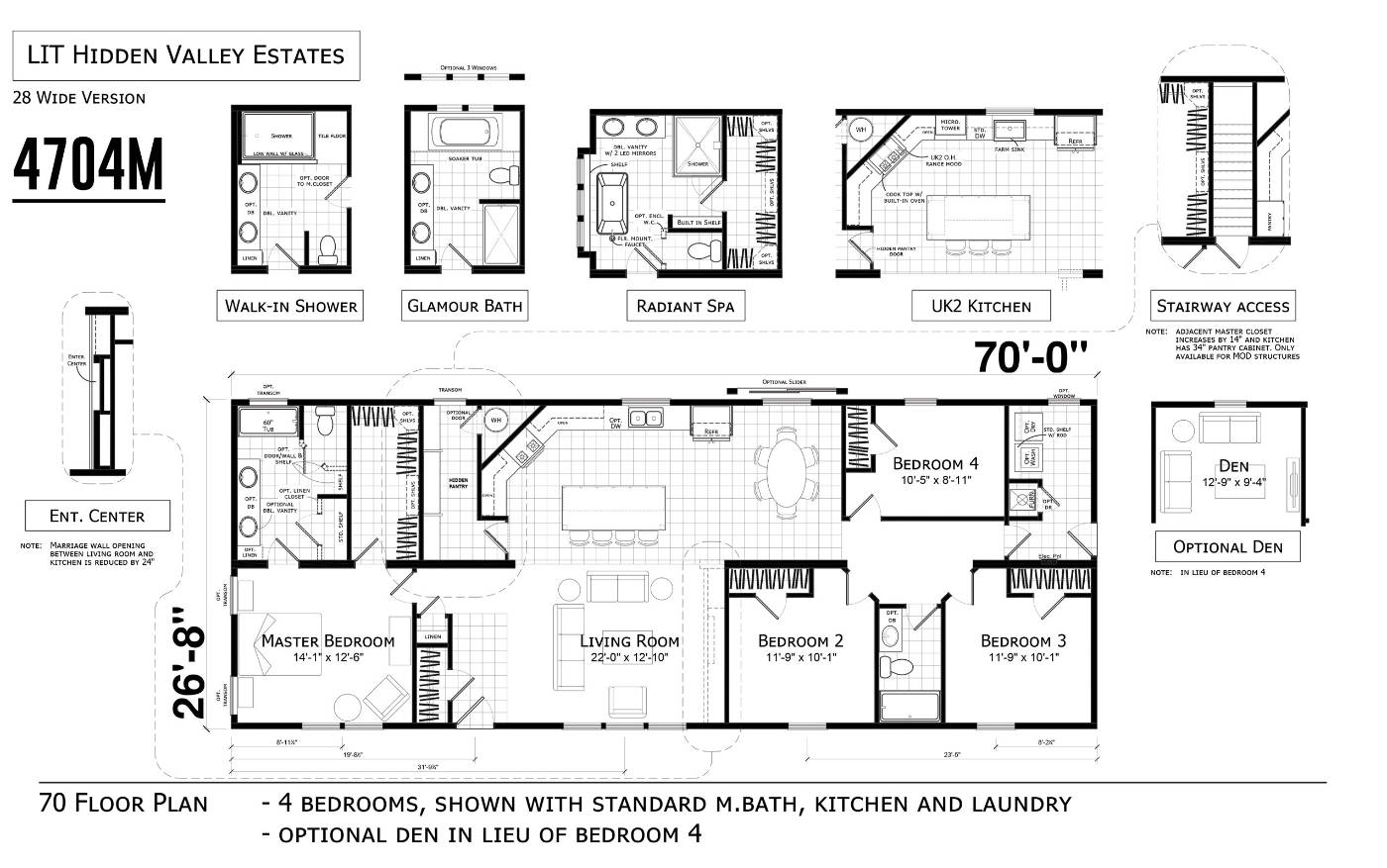 model floorplan layout